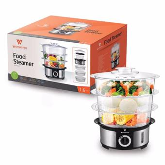 Wilmington Food Steamer TGS-FS1151 1.6L (Black/Silver)