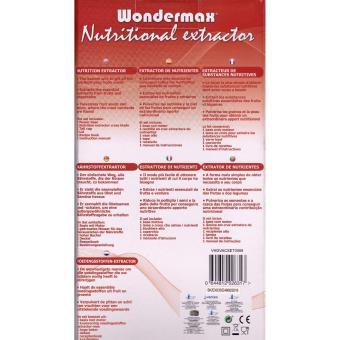 Wondermax Nutritional Extractor As Seen On TV - 2