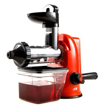 Slow Juicer Spinach : XBootsMalone Manual Blender Slow Juicer (Red) Lazada PH