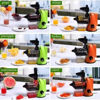 XBootsMalone Manual Slow Juicer (Green) - 3