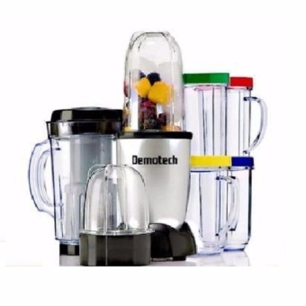 Zover Demotech DMFMS01 230W Motor Multi-Functional Food ProcessorAnd Mixer System Ideal for Chopping, Grating and Blending(Multicolor) Price Philippines
