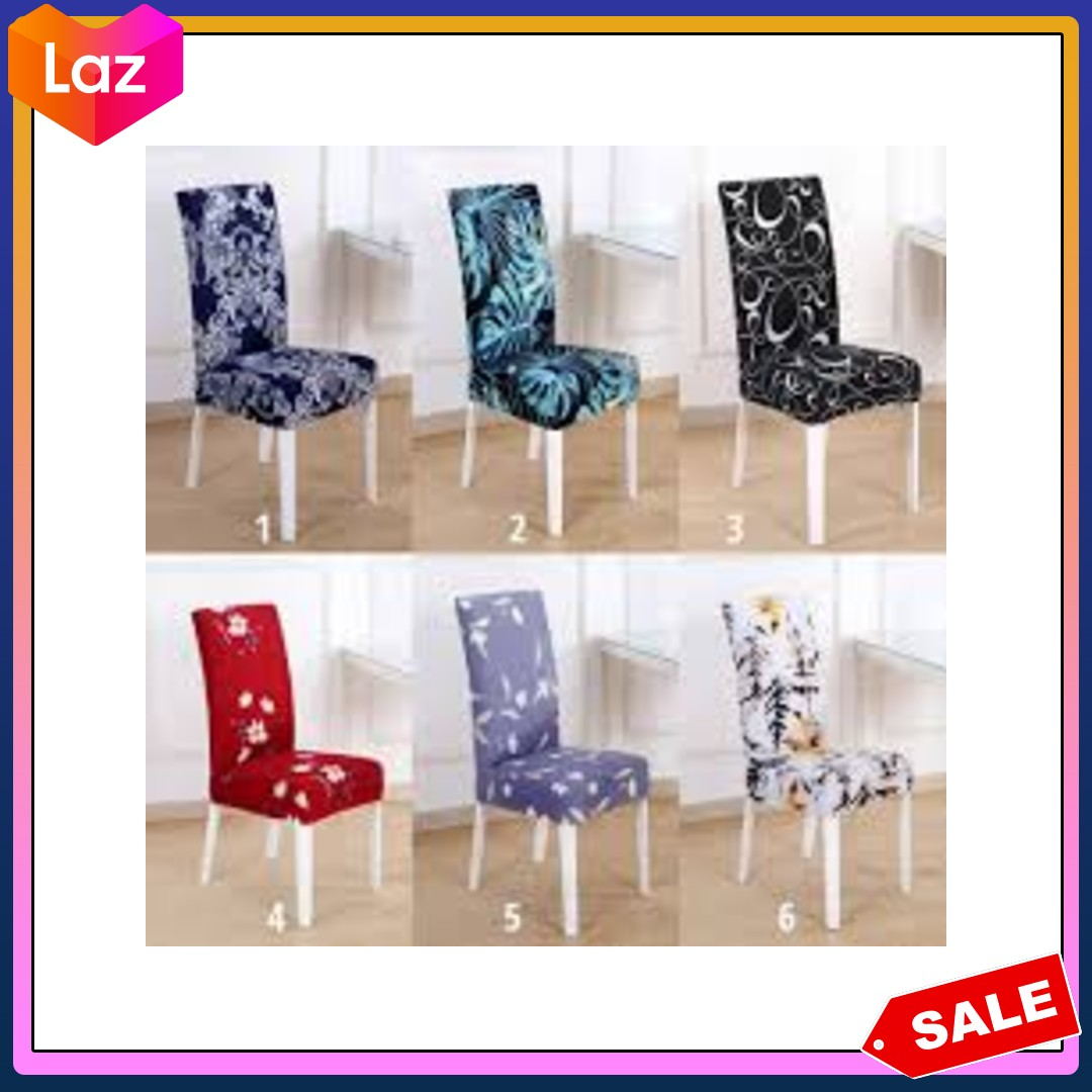 Picture of: Original Outflety Stretchy Chair Cover Slip Covers Elastic Modern Chair Protector Washable Removable Dining Room Seat Chair Covers Universal Fitting Lazada Ph