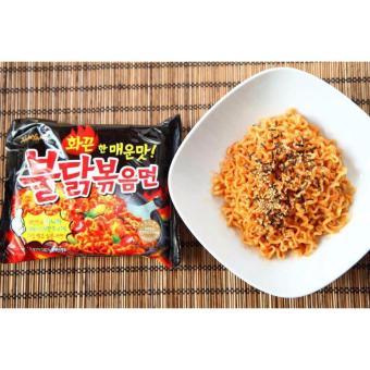 5 Pcs in 1 Pack Samyang Korean Super Spicy Ramen Noodle - 3