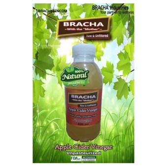 "520ml BRACHA Apple Cider Vinegar with the ""Mother"" Price Philippines"