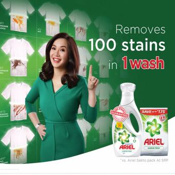 Ariel with Downy Liquid Laundry Detergent 360mL + Downy Passion 800mL - 2