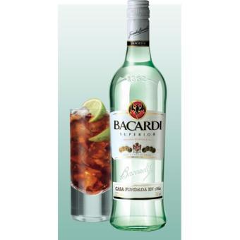 Bacardi Superior White Rum 750ml - 2