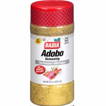 Badia Adobo with Pepper, 15 oz