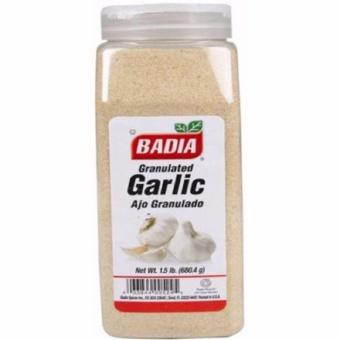 Badia Garlic Granulated - 1.5 lbs