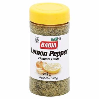 Badia Lemon Pepper Seasoning, 6.5 Ounce