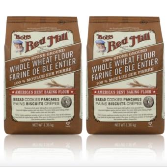 Bob's Red Mill - 100% Stone Ground Whole Wheat Flour, 1.36kg Set 2