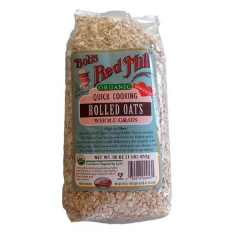 Bob's Red Mill Organic Quick Cooking Rolled Oats 453g