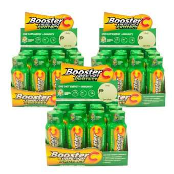 Booster C Energy Shot Protect variant 60 mL Set of 36 (Green)(…)