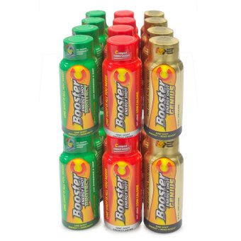Booster C Energy Shot Trio variants 60 mL Set of 24 (Multicolor)(…)
