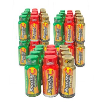 Booster C Energy Shot Trio variants 60 mL Set of 60 (Multicolor)(…)