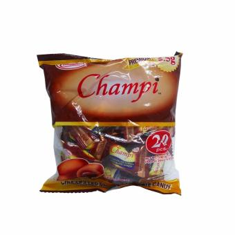 Brown Colombia's Champi Choco Filled Chewy Chocolate Candy 20pcs22g 3's 807916 w51 (MP) - 2