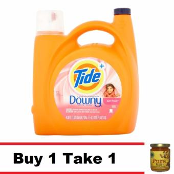 Buy 1 Tide Liquid Detergent April Fresh 156 Oz Take 1 Natural PureRaw Honey