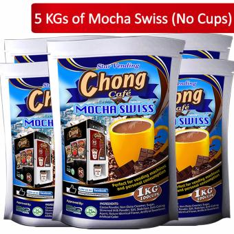 C5-MS Chong Mocha Swiss (5 Kilos) No Cups - Chong Cafe Phils Price Philippines
