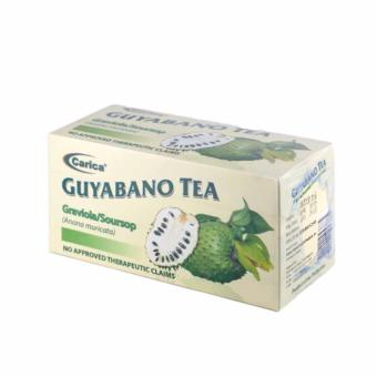 Carica Guyabano / Graviola / Soursop Tea - Box of 30 Teabags