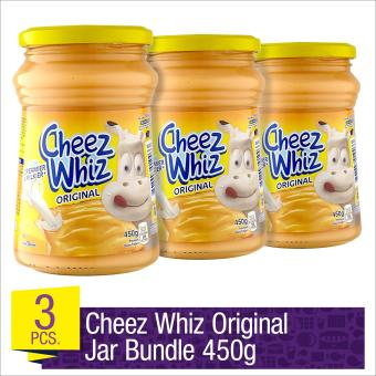 Cheez Whiz Spread Original 450g Jar Bundle- Set of 3