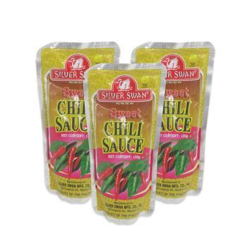 "Chili Sauce \""Sweet\"" 120g 3's (Yellow/Pink) 020247 W38"