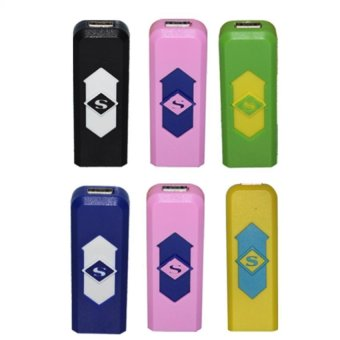 Electronic Lighter (Multicolor) Set of 6