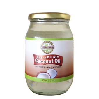 Farmers Produce Virgin Coconut Oil 16oz (473ml) Export quality -Cold pressed