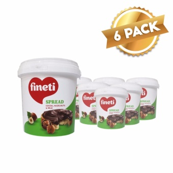 Fineti Hazelnut Spread 1kg (6 tubs)