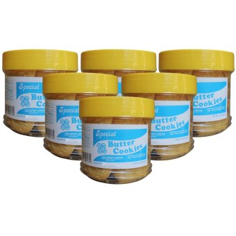 Good Shepherd Butter Cookies Bottle of 6 (Pure Brown)