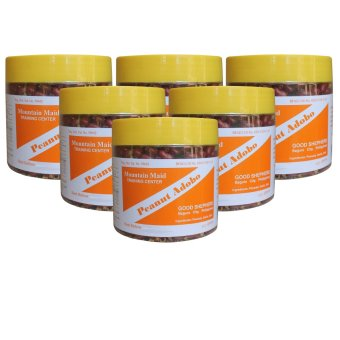 Good Shepherd Peanut Adobo Jar Bottle of 6 (Pure Brown)