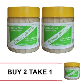 Good Shepherd Peanut Brittle No Sugar Added Buy 2 Take 1 (Clear White)