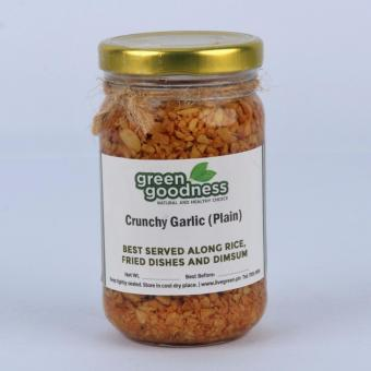 Green Goodness Crunchy Garlic - Plain (200g)