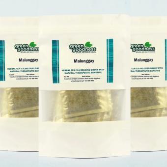 Green Goodness Malunggay Tea (10Tea/Pack) 3's