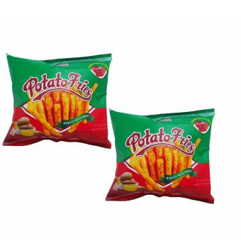Green / Red Potato Fries Baked Not Fried Tomato Ketchup Flavor 50g106030 2's w42
