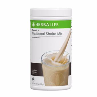 Herbalife Nutritional Shake Cookies and Cream Canister 550g