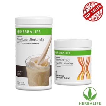 Herbalife Weight Management Combo (Cookies and Cream & Protein Powder)