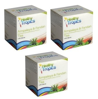 Harga Healthy Tropics Ampalaya and Pandan Tea (Set of 3)
