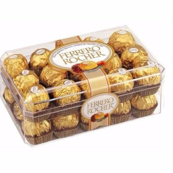 Harga Ferrero Rocher 30 pieces Box Shape