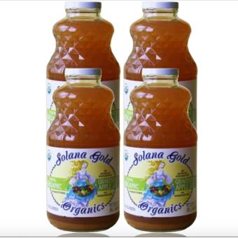 Harga Solana Gold Autumn Harvest Organic Apple Juice 32oz Set of 4