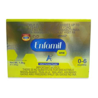 Harga Enfamil One A+ 1.8kg (Gold/Yellow) 029527 W37