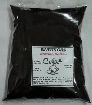 Harga Kitts Coffee Batangas Barako Ground Coffee 500g