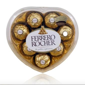 Harga Ferrero Rocher 8pc Heart Shape