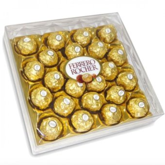 Harga Ferrero Rocher 24pcs (Box Shape)