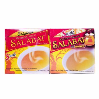 Sanlo Premium Instant Salabat, Original and Honey Price Philippines