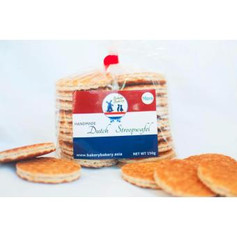 4 packs Handmade Dutch Stroopwafel mini (16 pieces per pack) Price Philippines