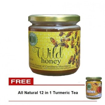 Natural Cordillera Wild Honey (Gold/Raw ) With Free All Natural 12 in 1 Turmeric Tea Price Philippines