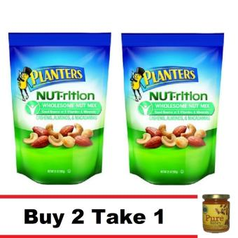 Planters Nutrition Wholesome Nut Mix 21 Oz Buy 2 Take 1 Natural Pure Raw Honey Price Philippines