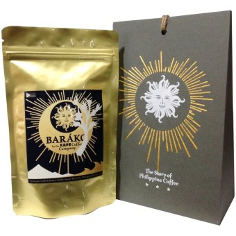 Harga Kape Coffee Co.'s Designer COFFEE GIFT PACK The Story of Philippine Coffee (100g premium Barako coffee)