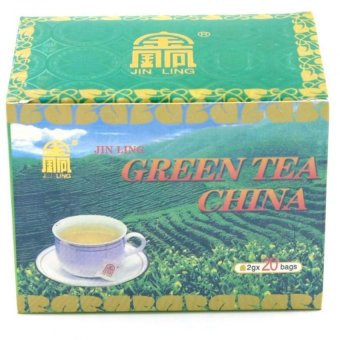 Jin Ling China Green Tea (40g) Price Philippines