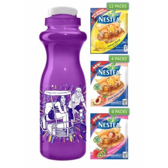 Nestea Wellness Pack (20 Litro Packs) with FREE CJ De Silva Tumbler - Pedicab Price Philippines