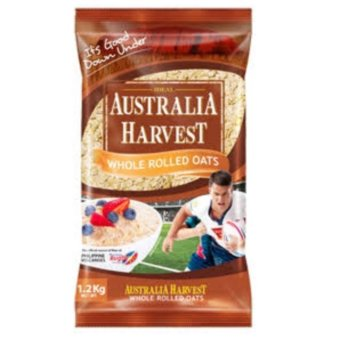 Harga Australia Harvest Whole Rolled Oats (Packs of 2)